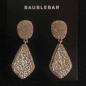 BaubleBar Champagne Drop Earrings -new
